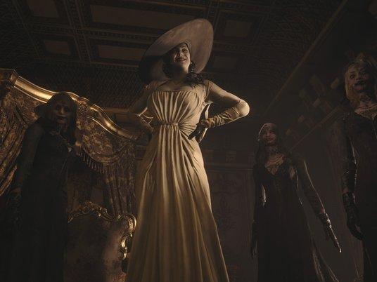 Игра Resident Evil Village получила обнаженную злодейку