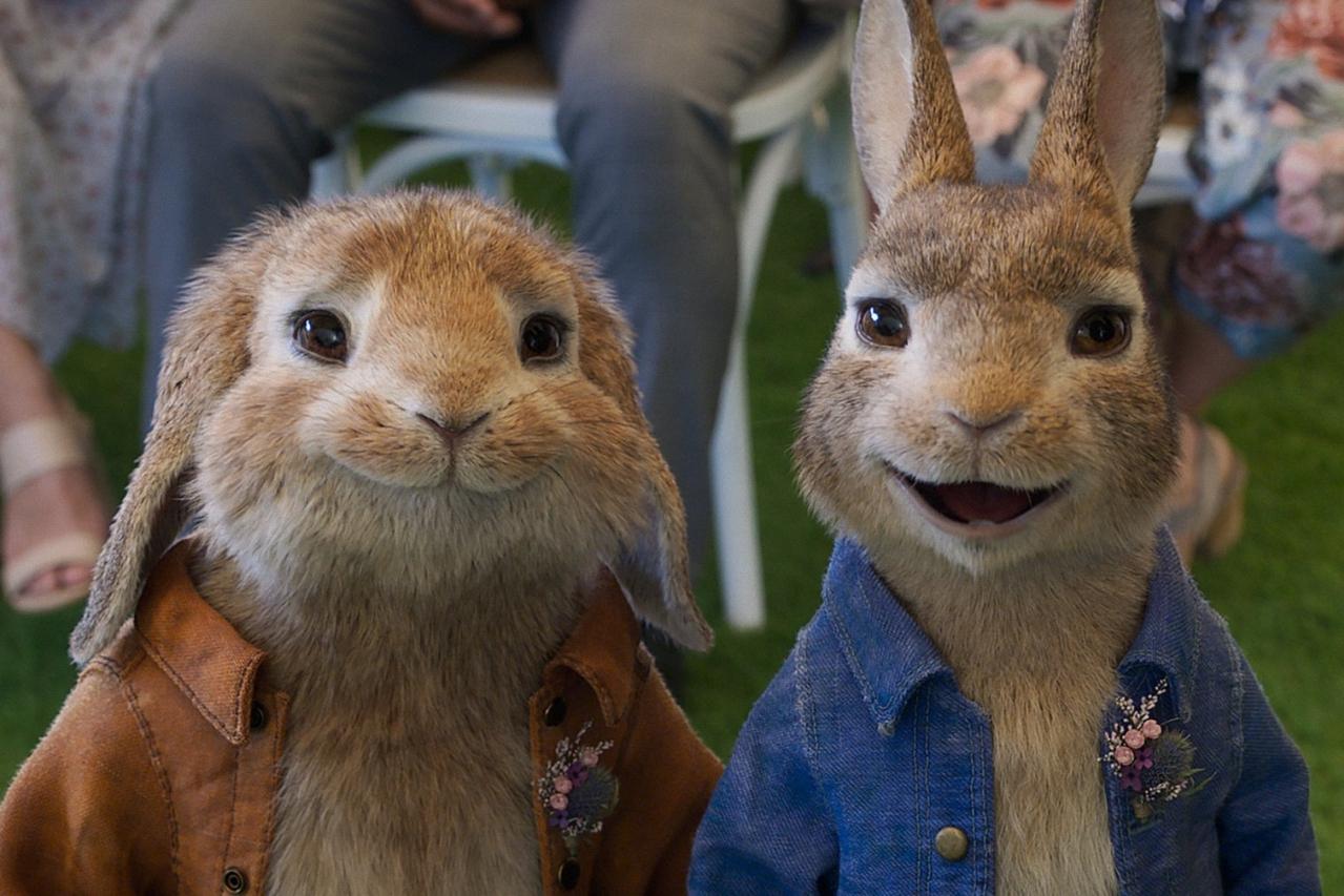 «Кролик Питер 2»: милые пушистики атакуют