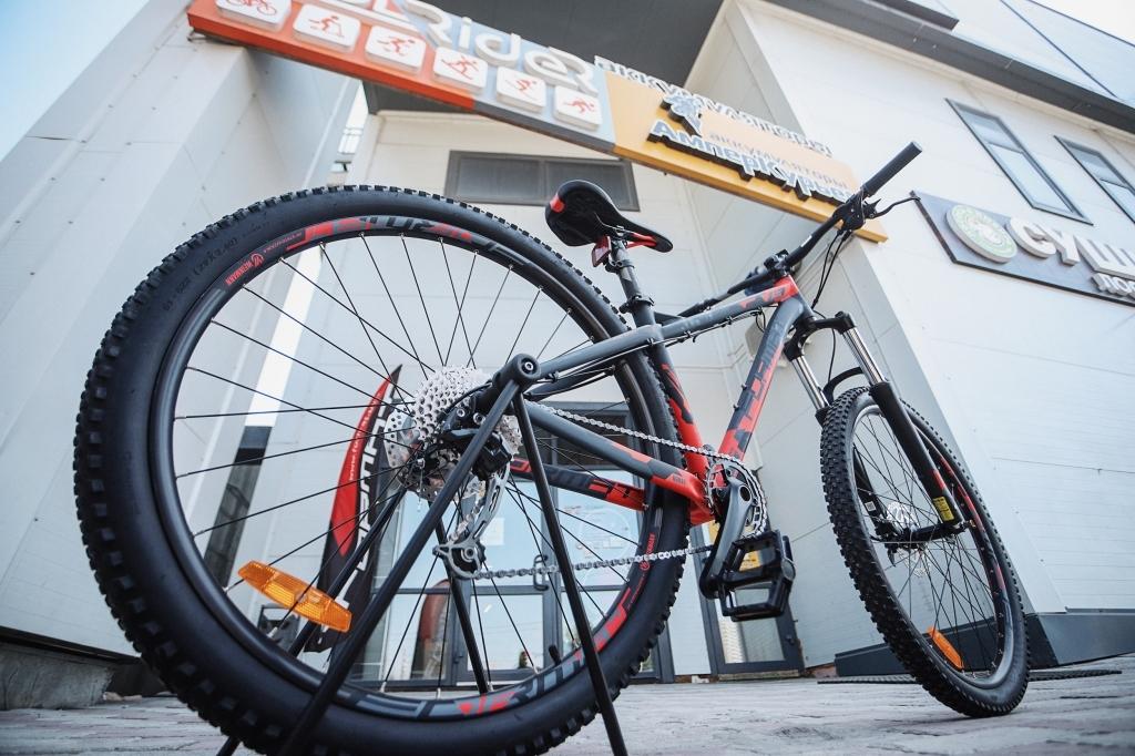 Трейловый велосипед бренда Format
