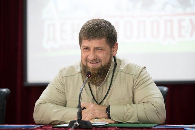 Кадыров рассмеялся, докладывая орезультатах выборов вЧечне