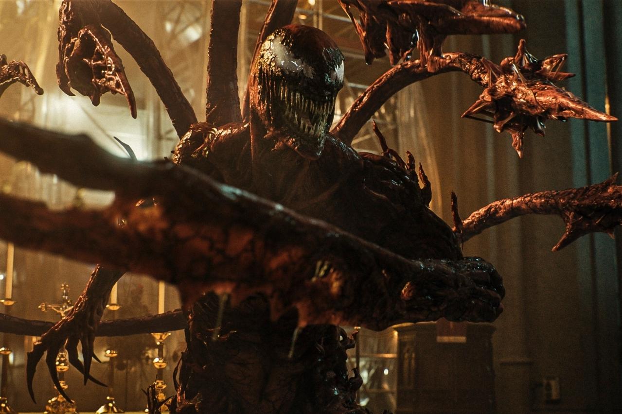 «Веном 2»: инопланетный монстр делает кусь